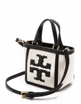 Tory Burch White Tiny Tote - 4.26