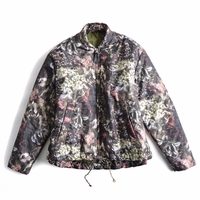 Multicolor Floral Bomber Jacket