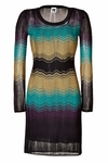 Variegated Knit Dress - 4.30