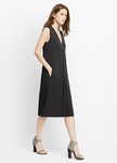 Vince Front Pleat V-Neck Dress - 5.31