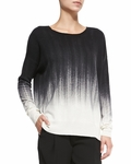 Vince Painted Ombre Knit Sweater