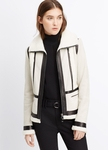 VINCE Shearling Coat - 7.7