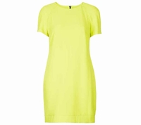 Weekend by Max Mara Yellow Maternity Crepe Tee Shift Dress