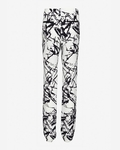 White William Printed Pant