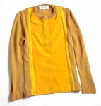 Yellow block cardigan (On Sale)
