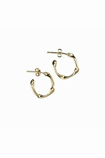Adina Reyter 10k Tiny Four Twist Hoop Earrings