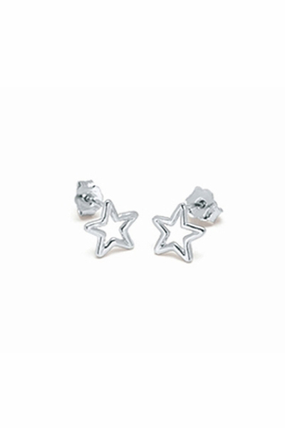 Adina Reyter Star Sterling Silver Post Earrings