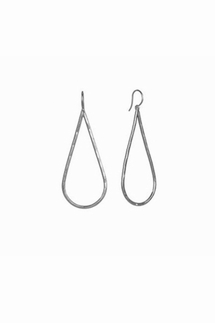 Adina Reyter Teardrop Sterling Silver Large Earrings