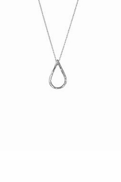 Adinar Reyter Teardrop Sterling Silver Small Necklace
