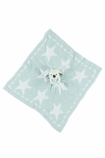 Barefoot Dreams Aqua Ice CozyChic Dream Mini Blanket Buddie