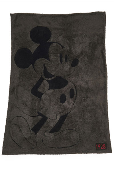 Barefoot Dreams CozyChic Classic Disney Mickey Mouse Blanket
