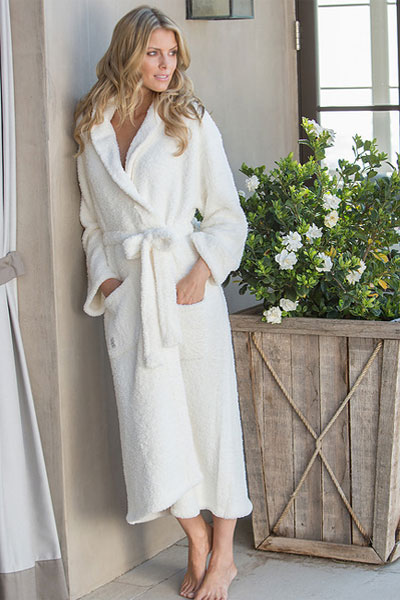 Barefoot Dreams Cozychic Pearl Robe Think Her