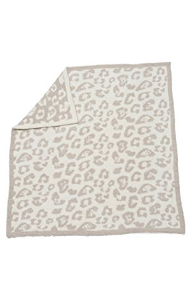 Barefoot Dreams In The Wild Leopard Cream Stone Baby