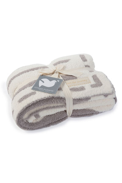 Barefoot Dreams Trust The Journey CozyChic Throw