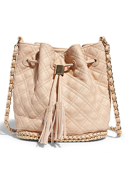 Big Buddha Hankie Blush Crossbody Bag