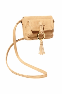 Big Buddha Kaden Camel Crossbody Bag