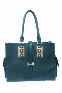 Big Buddha Porter Blue Handbag