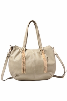 Big Buddha Sidney Grey Handbag