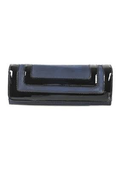 Big Buddha Toro Navy Clutch/Wallet