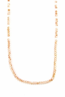Chan Luu Champagne Crystal Necklace