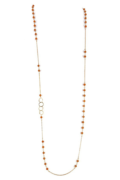 Charlene K Citrine Long Necklace