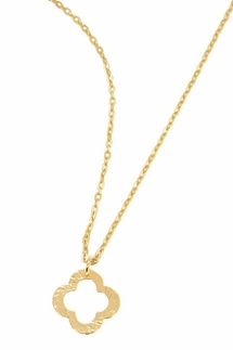 Charlene K Clover Necklace