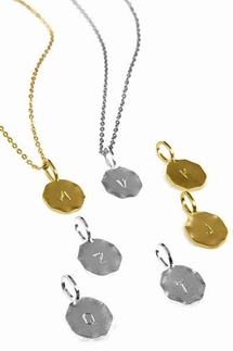 Charlene K Initial Necklace