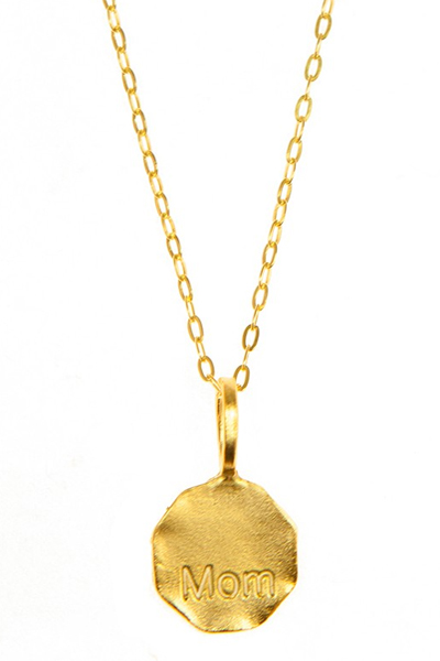 Charlene K Mom Gold Necklace