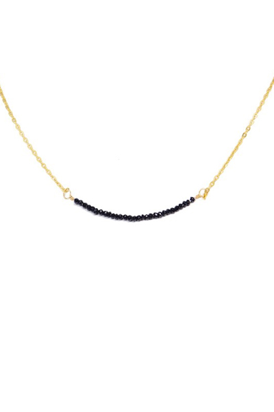 Charlene K Onyx Gemstone Necklace