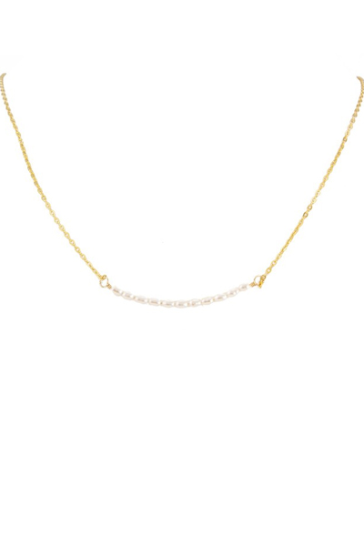 Charlene K Pearl Gemstone Necklace