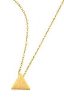 Charlene K Small Triangle Charm Necklace