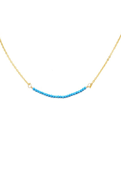 Charlene K Turquoise Gemstone Necklace