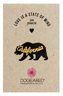 Dogeared California Gold Ear Crawler