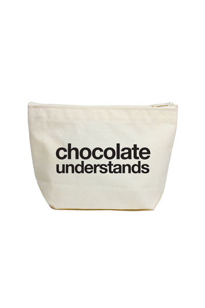Dogeared Chcocolate Understands Lil' Zip Bag
