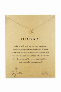 Dogeared Dream Gold Necklace