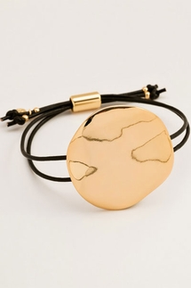 Gorjana Chloe Leather Adjustable Bracelet