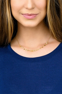 Gorjana Chloe Mini Gold Necklace