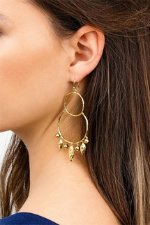 Gorjana Eliza Chandelier Gold Earrings