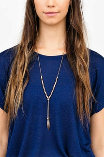 Gorjana Laguna Large Adjustable Rose Gold Necklace