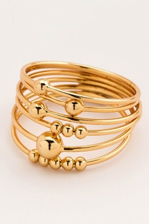 Gorjana Newport Stacking Ring Set