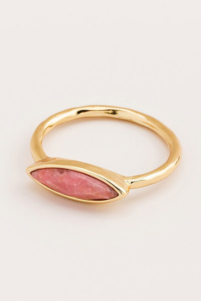 Gorjana Palisades Rhodonite Ring