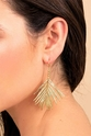 Gorjana Palm Drop Earrings