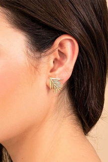 Gorjana Palm Stud Earrings