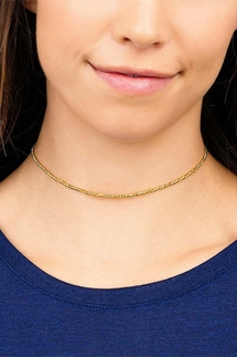Gorjana Playa Beaded Gold Choker