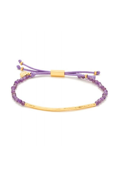 Gorjana Power Gemstone Amethyst Bracelet