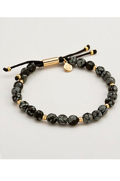 Gorjana Power Gemstone Beaded Bracelet For Courage