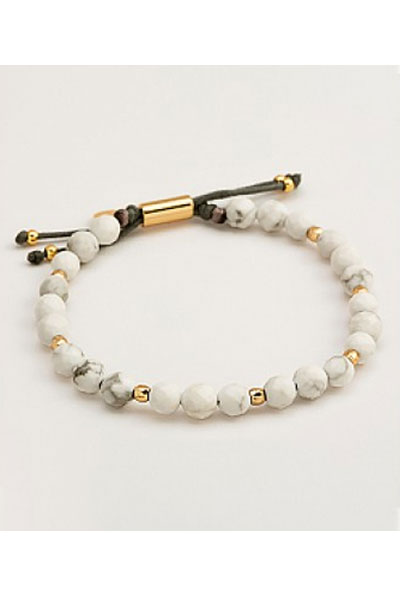 Gorjana Power Gemstone Beaded Bracelet For Calming