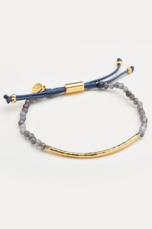 Gorjana Power Gemstone Iolite Bracelet for Focus
