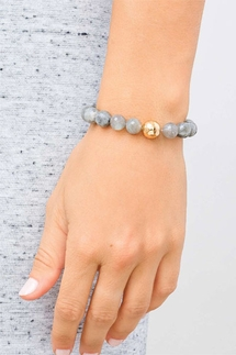 Gorjana Power Gemstone Labradorite Statement Bracelet