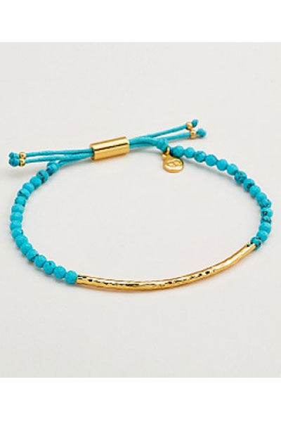 Gorjana Power Gemstone Turquoise Bracelet for Healing